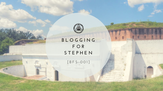 [BFS-001] Blog for Stephen